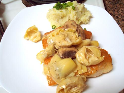 Chicken and Artichoke Sauté