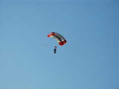 Plano Balloon Festival - Sky Diving - Parachute