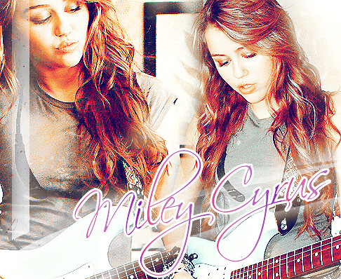 Miley Cyrus by •Liih!.