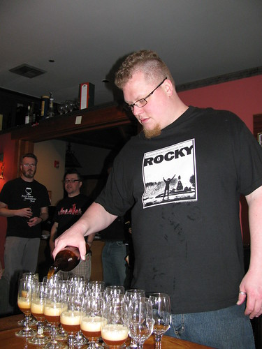 Matt Bonney keeping things moving