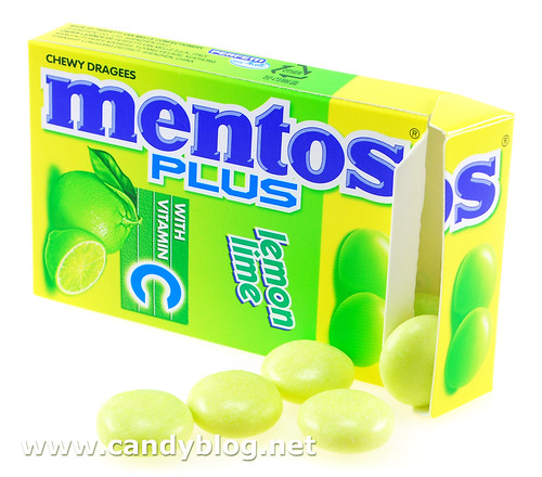 Lemon Lime Mentos Plus