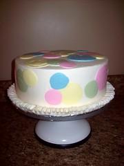 Pastel Circles Cake