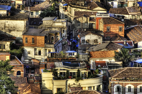 Gulangyu's Houses. by Jakob Montrasio, on Flickr