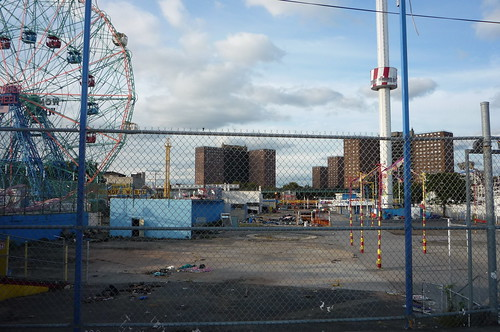 closed rides Coney Island