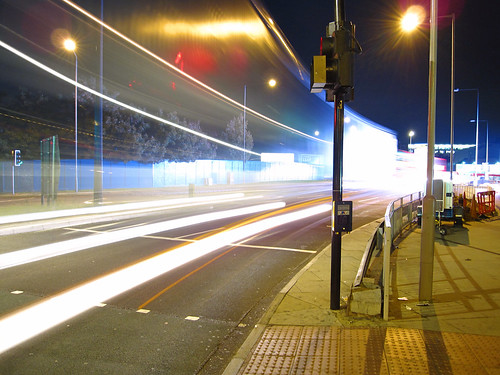 Shepherd's Bush at night II