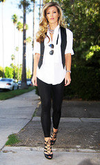 white-tux-shirt-vest-leggings- HIGH contrast