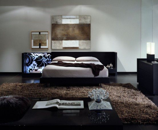 Contemporary Italian Beds Designs