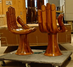 chairs at Sotheby's (Julia Manzerova) Tags: wood hand chairs auction ugly poortaste sothebys inbadtaste