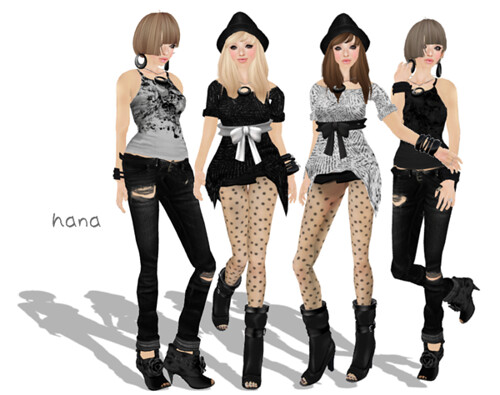 [Sassy Kitty Designs] Urban Styles