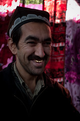 Uzbekistan-227 (Kelly Cheng) Tags: travel people man color colour male men tourism vertical colorful asia market muslim islam religion vivid indoor colourful persons bazaar uzbekistan centralasia samarkand islamic samarqand urgut ulugbek ulughbeg