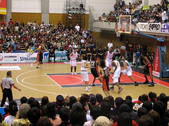 Osaka Evessa vs Sendai 89ers - Kadoma, Osaka, Japan (glazaro) Tags: city basketball japan japanese asia stadium arena dome  osaka sendai kansai kadoma namihaya bjleague evessa 89ers