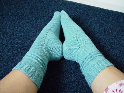 Purl Trax Socks