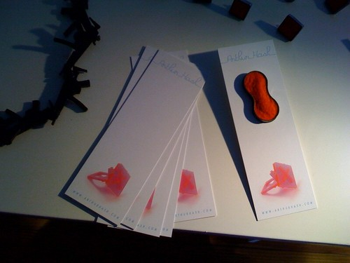 New bookmarks/postcards/business cards for ACC