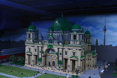 Lego Cathedral (colonelchi) Tags: berlin film church festival museum germany toy europe lego mini plastic replica dome recreation filmfestival legoland berlinale berlinfilmfestival satue cathedrial