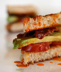 Avocado Pepper Tomato Toastie 0276
