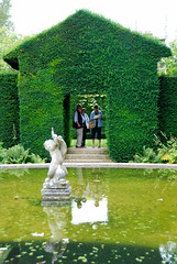 Reflecting on the Green House at Hidcote Manor Garden! (antonychammond) Tags: uk england green statue pond topiary britain gloucestershire hedge soe visualart blueribbonwinner otw hidcotemanorgarden kartpostal abigfave goldstaraward flickrestrellas natureselegantshots rubyphotographer