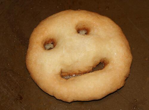 Pie crust cookie