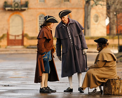 The Colonists (avirus) Tags: winter virginia colonial clothes williamsburg actor colonist