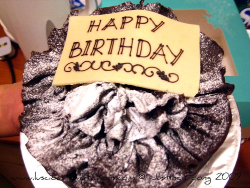 Happy Birthday Val! Chocolate Cake - Kuala Lumpur