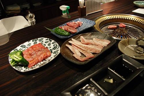 BBQ dinner at 梅しん(Umeshin)