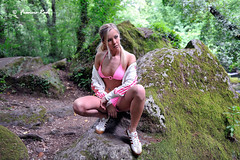 Natallia Fitness Girl #6 (Francis_Red) Tags: wood woman cute nature girl look fashion sport photography photo model glamour nikon shoes long legs outdoor blonde belarus fitness d3 natallia gymnic