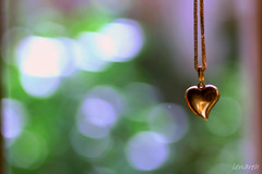 HeartBokehWednesday (Lenareh) Tags: wednesday gold necklace heart bokeh chain pendant puso ginto hbw pinoykodakero lenareh larawangpinoy palawit kwintas advancehappyvalentinesday freshfromthepawnshophehehe