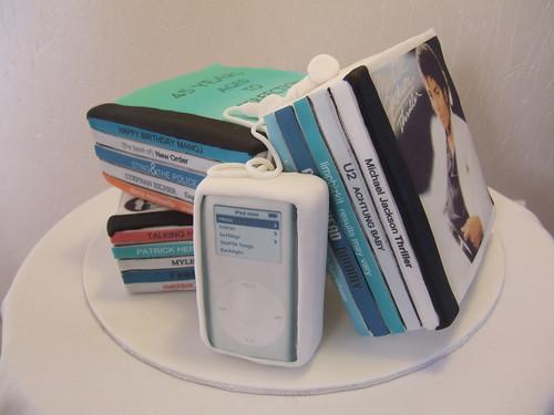 DVD cake