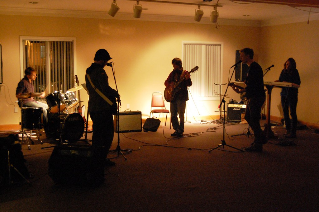Lubec in their practice space