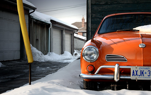 Orange Karmann Ghia / Michael Smith
