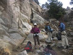 Kristi, Xanthe, and Brian Prepare to do Battle at Riviera