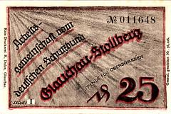 Glauchau - Stollberg - (Iliazd) Tags: germany german 1919 currency 1920 1921 inflation notgeld papermoney inflationary germancurrency preinflationary germaninflationarycurrency1919192001921inflationarypreinflationary emergencymoney germanpapermoney