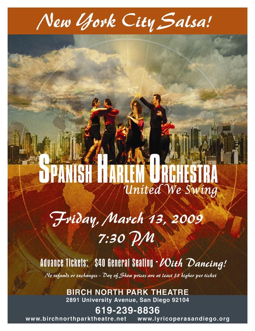 Spanish Harlem Orchestra Flyer