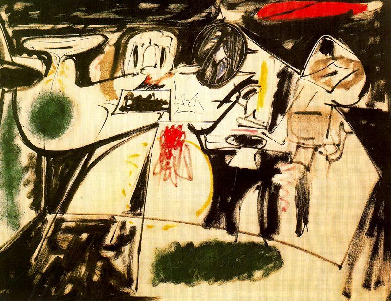 阿希尔8231;高尔基Arshile Gorky(美国1904—1948)作品集1 - 刘懿工作室 - 刘懿工作室 YI LIU STUDIO