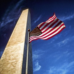 USA - Washington DC - Washington Monument & flag (Darrell Godliman) Tags: travel copyright usa building travelling tourism monument architecture america buildings mall washingtondc us dc washington districtofcolumbia unitedstates squares flag unitedstatesofamerica landmark squareformat nationalmall northamerica flagpole washingtonmonument georgewashington sq starsandstripes allrightsreserved eastcoast thedistrict themall architecturalphotography travelphotography bsquare thestates instantfave 5photosaday omot flagflying  travelphotographer flickrelite dgphotos darrellgodliman wwwdgphotoscouk architecturalphotographer dgodliman 5halloffame usawashingtondcwashingtonmonumentflagtopazsq kwadratsquare