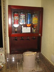 The much-talked-about liquor dispensers