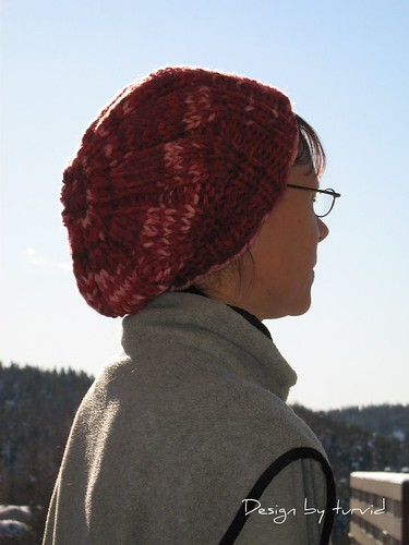 Give me a purl!  Free pattern  Anyway - Chunky Hat in Super Bulky Yarn b67c1b7acdf