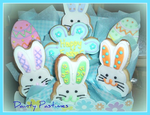 easter cookie bouquet