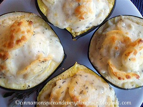 Ravioli Stuffed Squash Hearts & Mozzarella Cream Sauce