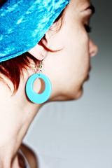 A Piece Of Blue (nayshe64) Tags: blue portrait self canon eos earring sp headband 52 450d naomihoare 52pom nayshell nayshell64