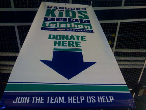 Canucks for Kids Today!