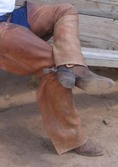 COWBOY GEAR (AZ CHAPS) Tags: ranch spurs cowboy boots chaps