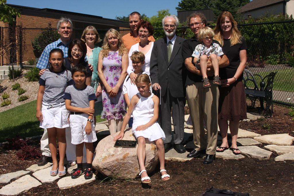 Brokering Family at Dedication