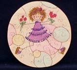 """"""" Laney """" Stick Figure drawing - girl holding flowers bubble background (Puzzled1.com) Tags: wood flowers flower cute home floral girl wooden saw child hand handmade drawing circles bubbles puzzle made burning homemade figure handcrafted stick jigsaw dots puzzles scroll burned puzzled woodburning childlike puzzel scrollsaw crafted woodburned pyrography wwwpuzzled1com httpwwwpuzzled1com"""