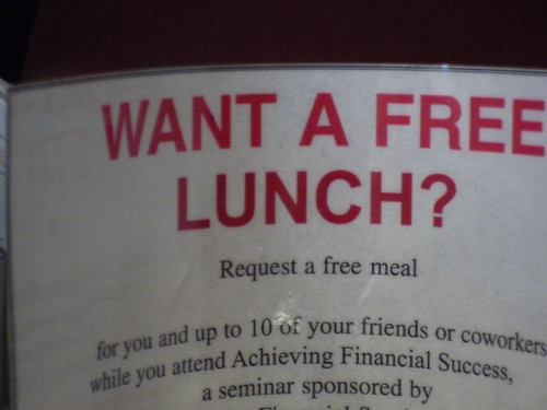 Free Lunch Full Sign