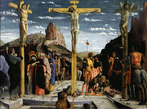 The Crucifiction by Andrea Mantegna