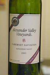 2005 Alexander Valley Vineyards Cabernet Sauvignon