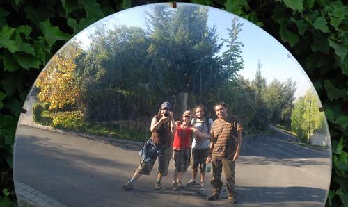 foto grupal/reflejo