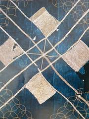 antique kimono reduced44AR (Neville Trickett) Tags: japan stitch antique indigo craft sew fabric kimono textiles patchwork