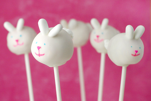 cake pops photo. Bunny Cake Pops