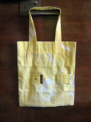 Market Tote Sewn From a Pillowcase